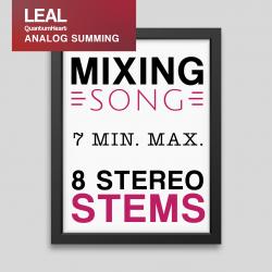 Mixing song 8 Stereo tracks and 7 min. max length